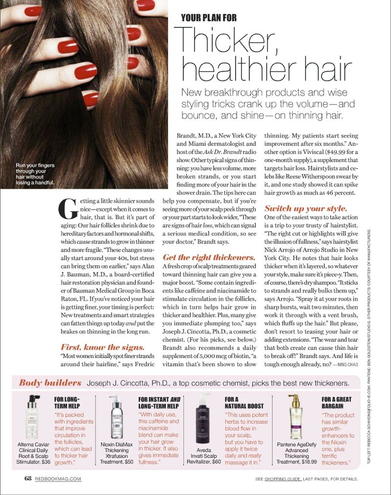 Redbook_ThickerHealthierHair_DrBauman