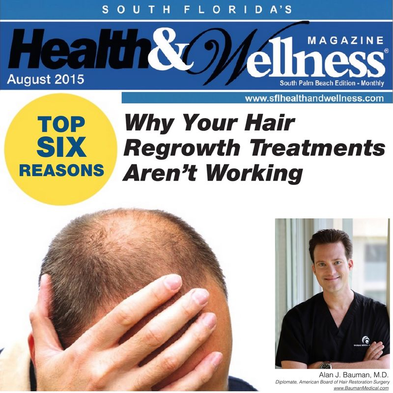 Hair regrowth not working_Dr_Alan_Bauman_SFHW