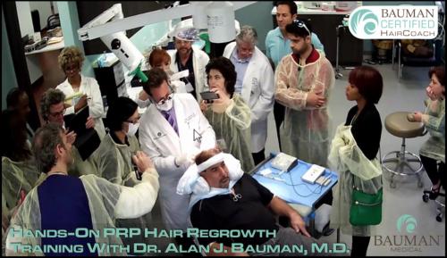 PRP Hair Regrowth Training DrAlanBauman - HairCoach
